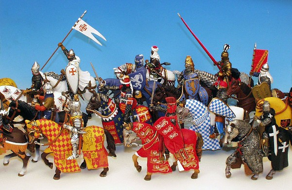Frontline Altaya 54mm Medieval Figure KK69 Aztec Warrior